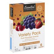 Essential Everyday Fruit Flavored Snacks, Variety Pack