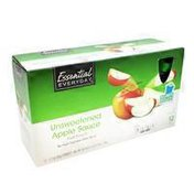 Essential Everyday Unsweetened Apple Sauce