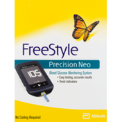 Free Style Precision Neo Blood Glucose Monitoring System