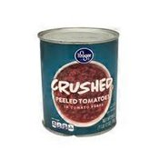 Kroger Crushed Peeled Tomatoes In Tomato Puree