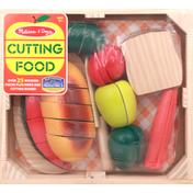Melissa & Doug Play Set, Cutting Food, Ages 3+