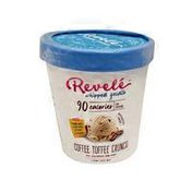 Revele Coffee Toffee Crunch Whipped Gelato
