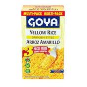 Goya Spanish Style Yellow Rice Mix, Multi-Pack