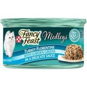 Fancy Feast Medley Turkey Florentine