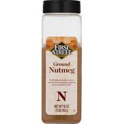 First Street Nutmeg, Ground