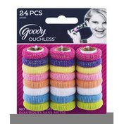 Goody Ouchless No Metal Elastics - 24 CT