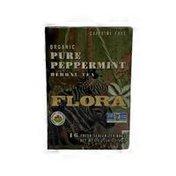 Flora Pure Peppermint Tea Bags