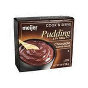 Meijer Chocolate Flavored Pudding & Pie Filling