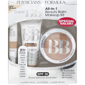 Physicians Formula Makeup Kit, Beauty Balm, All-in-1, Light/Medium Kit