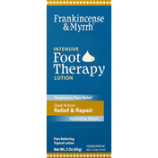 Frankincense & Myrrh Foot Therapy Lotion, Intensive