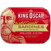 King Oscar Soya Oil Sardines