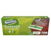 Swiffer Sweeper 2 in 1 Mop and Broom Floor Cleaner Starter Kit in the Box