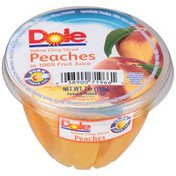 Dole Yellow Cling Sliced in 100% Fruit Juice Peaches