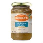 Manischewitz Whitefish & Pike, in Jelled Broth