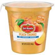 Del Monte Peach Chunks, Yellow Cling, No Sugar Added