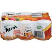 Kern's Kerns Peach Nectar Fruit Juice Cans