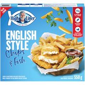 High Liner English Style Chips & Fish