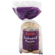 Hy-Vee Oatmeal Raisin Bakery Style Bagels