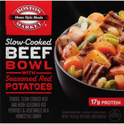 Boston Market Beef Bowl with Seasoned Red Potatoes, Slow-Cooked