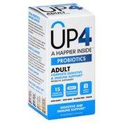 UP4 Probiotics, Adult, Vegetable Capsules