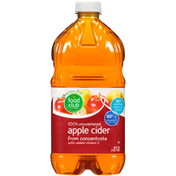 Food Club 100% Unsweetened Apple Cider From Concentrate