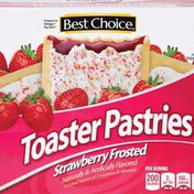 Best Choice Strawberry Frosted Toaster Pastries