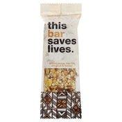 This Bar Saves Lives Bar, Madagascar Vanilla Almond & Honey