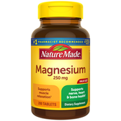 Nature Made Magnesium Oxide 250 mg Tablets