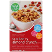 Food Club Cranberry Almond Crunch Cereal