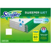 Swiffer Sweeper Wet Mopping Pad Refills for Floor Mop Open Window Fresh Scent 60 Count Surface Care