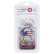 Keyscaper Phone Case, Fish Outa Water Gold Glitter, iPhone 6/6s