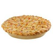 Jessie Lord Pre-Baked No Sugar Added Peach Pie