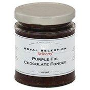 Belberry Fondue, Chocolate, Purple Fig