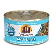 Weruva Grain-Free Mack & Jack With Mackerel & Grilled Skipjack Wet Cat Food