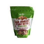 Meijer DARK CHOCOLATE PEANUT BUTTER Toffee Peanuts, Roasted & Salted Peanuts, Chocolate Chunks and Peanut Butter Candies Trail Mix