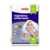 Meijer Nighttime Underwear S/M