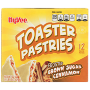 Hy-Vee Frosted Brown Sugar Cinnamon Toaster Pastries