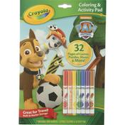 Crayola Coloring & Activity Pad