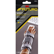 FUTURO Wrist Stabilizer, Deluxe, Right, Firm Support, Adjustable (5.5-8.5 Inches)