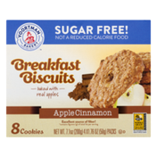 Voortman Breakfast Biscuits Sugar Free! Apple Cinnamon