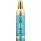 OGX Decadent Creamy Mousse, Locking + Coconut Curls, 4
