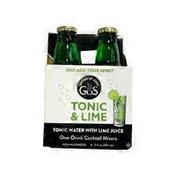 Gus Grown-up Soda Tonic Water With Lime Juice