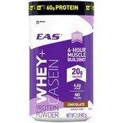 EAS Whey + Casein Chocolate EAS Whey + Casein Protein Powder Chocolate Powder Canister