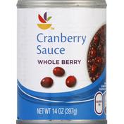 SB Cranberry Sauce, Whole Berry