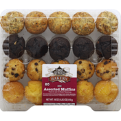First Street Muffins, Assorted, Mini