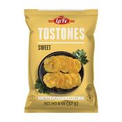 La Fe Tostones Sweet Chips, Ripe Plantain Snacks