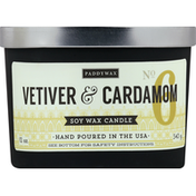 Paddywax Candle, Soy Wax, Vetiver & Cardamom