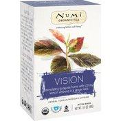 Numi Organic Tea, Vision, Medium Caffeine, Bags