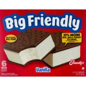 Friendly's Ice Cream Sandwich Vanilla
