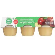 Food Club Unsweetened Applesauce